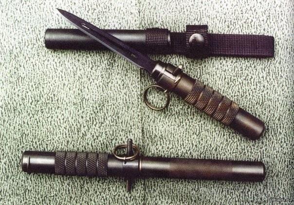 Баллистический нож и чехол для него