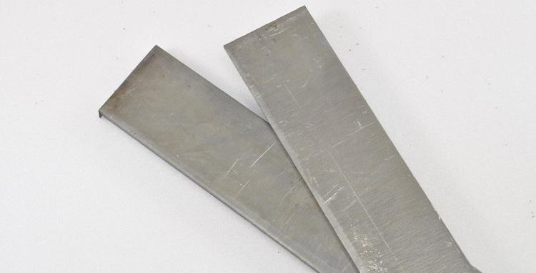 Бруски стали для ножа