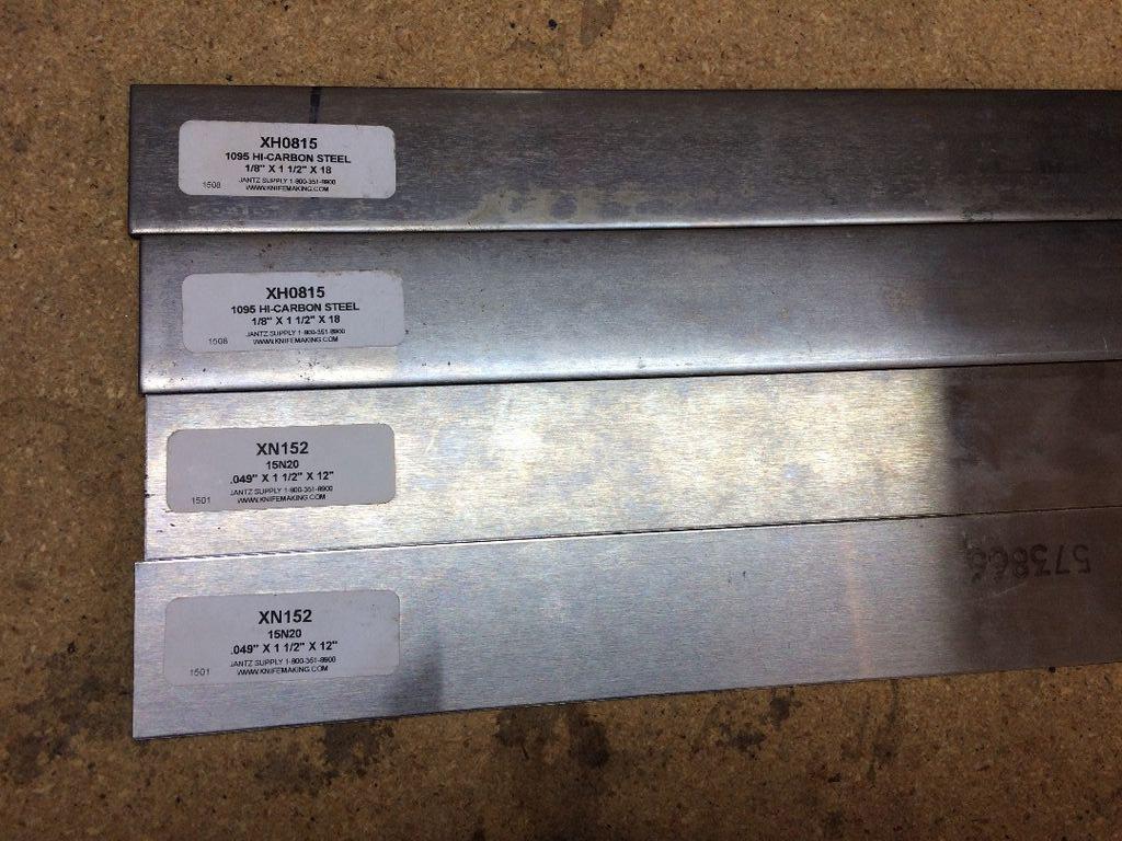 Высокоуглеродистая сталь для ножа