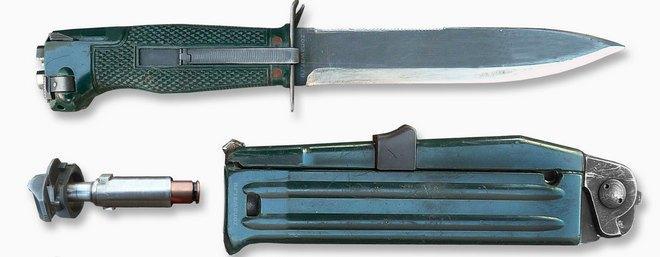 Составляющие баллистического ножа