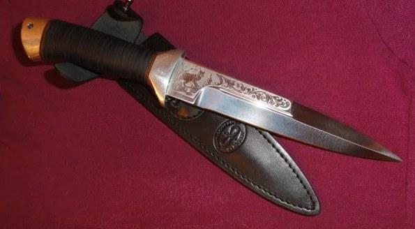 Охотничий нож Рысь от компании АиР
