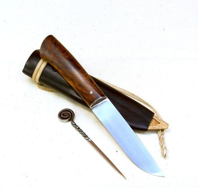Балкарский нож бычак