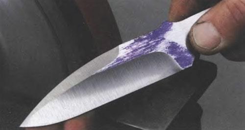 Шлифовка ножа