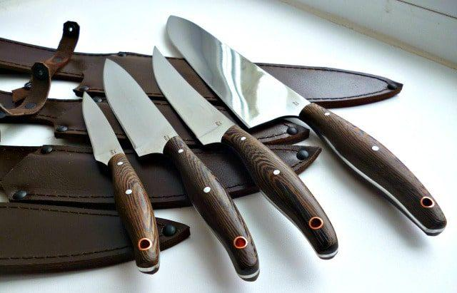 Ножи с разной сталью