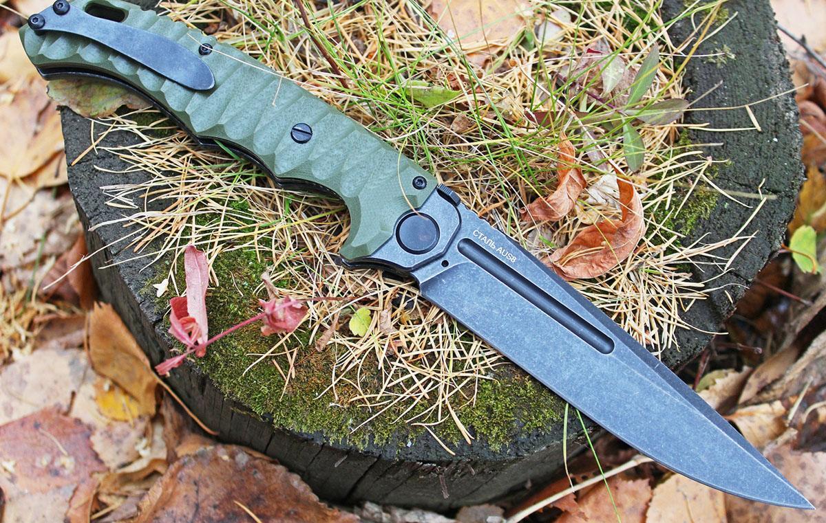 Нож из стали AUS-8
