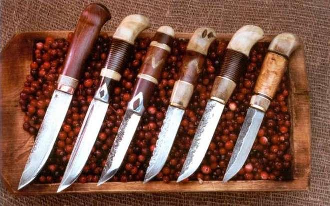 Ножи с разными рукоятями