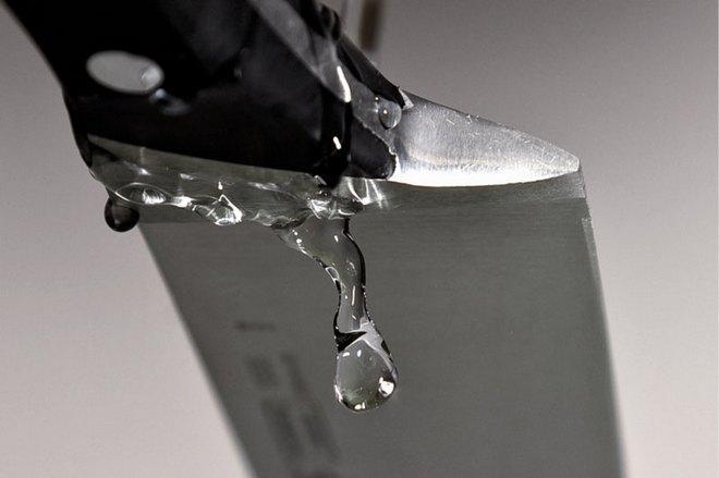 Охлаждение ножа