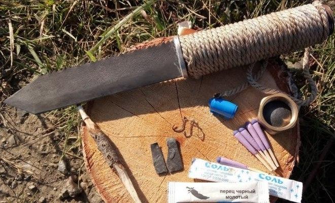 Самодельный нож для выживания