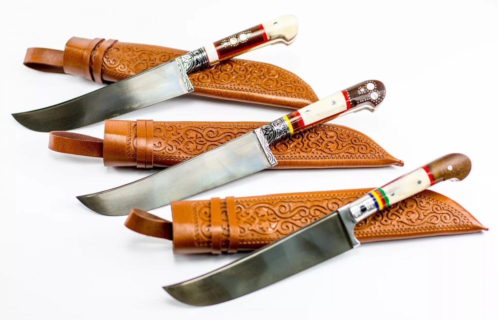 Узбекский нож ручной работы применение