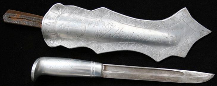 Финский нож Пуукко Sotapuukko