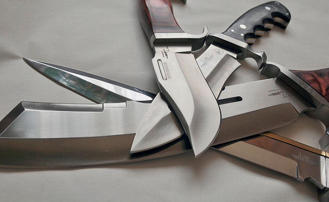 Различные виды ножей