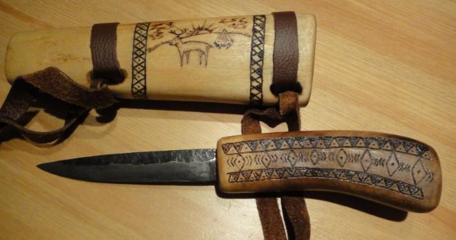 Эвенкийский нож сибирское орудие
