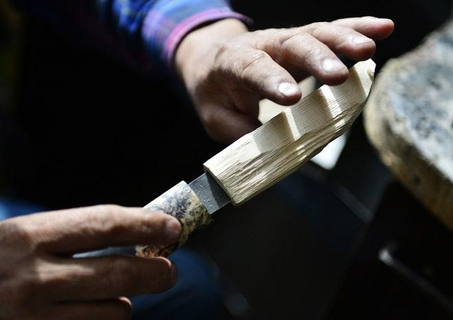 Заточка якутского ножа