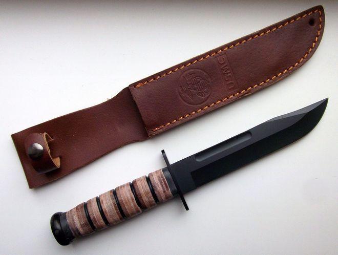 Боевой нож с чехлом