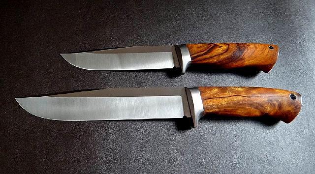 Нож из клапанной стали