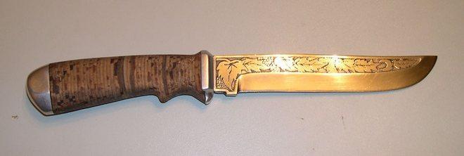 Подводный нож самодельный