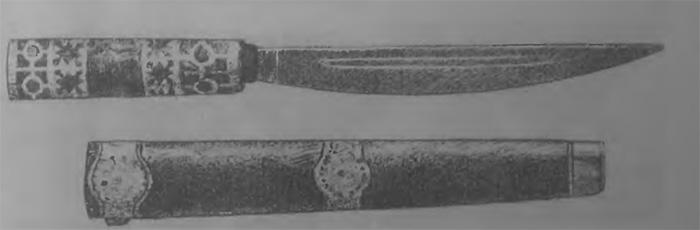Якутский нож конца 19 века