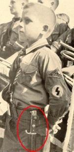 Ношение ножа Гитлерюгенд