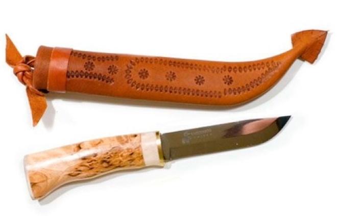 Нож Karesuando с ножнами