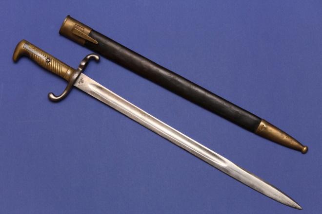 Штык нож к винтовке Маузер 1871 года