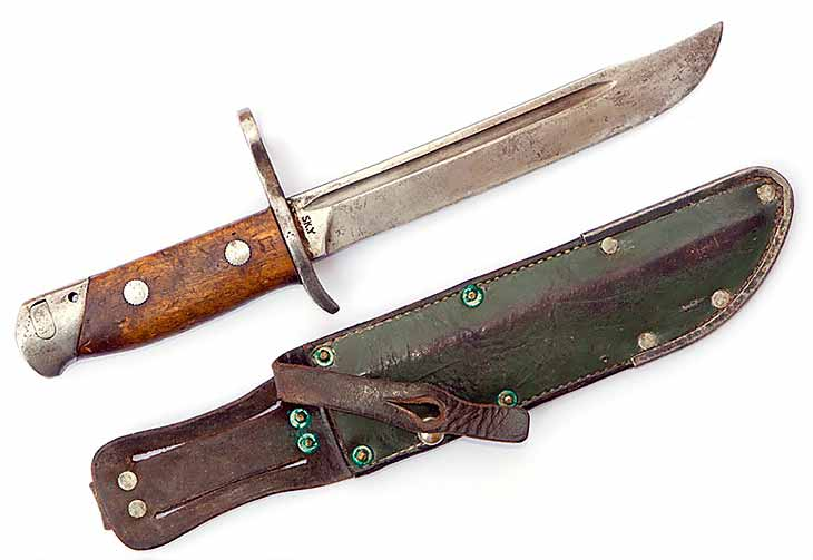 Финский штык нож для винтовок Мосина 1939 года с ножнами