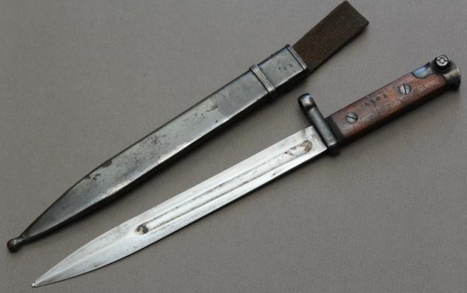 Штык нож СВТ-40 с ножнами