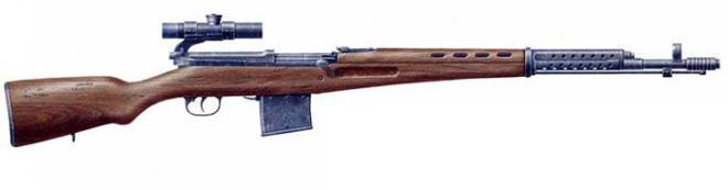 Снайперская винтовка СВТ 40 без штык ножа