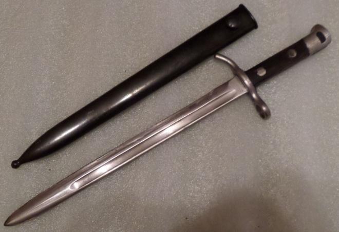 Штык к винтовкам системы Мосина 1927 года с ножнами