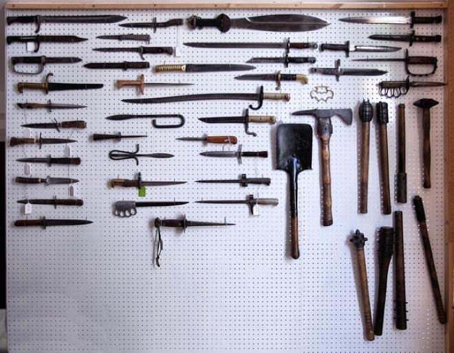 Разновидности самодельного холодного оружия