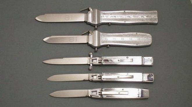 Удобные фронтальные ножи
