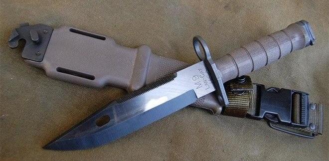 Современный компактный штык-нож