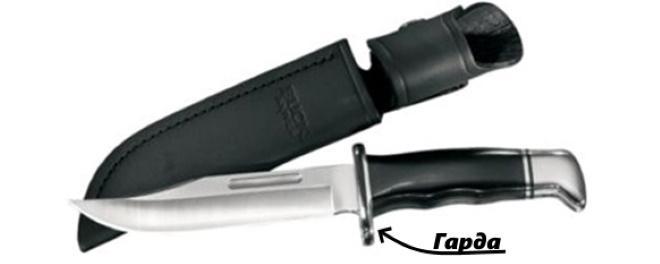 Гарда на ноже