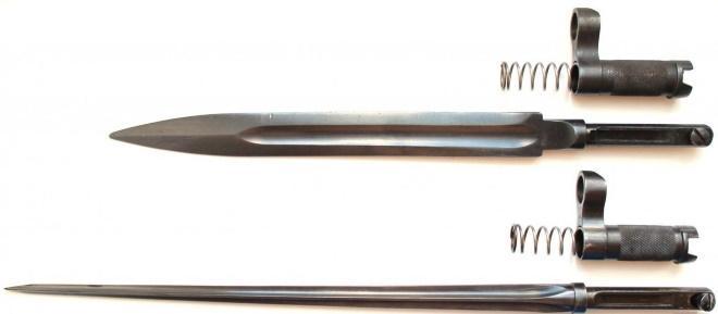 Ножевой и игольчатый штыки к винтовке Симонова
