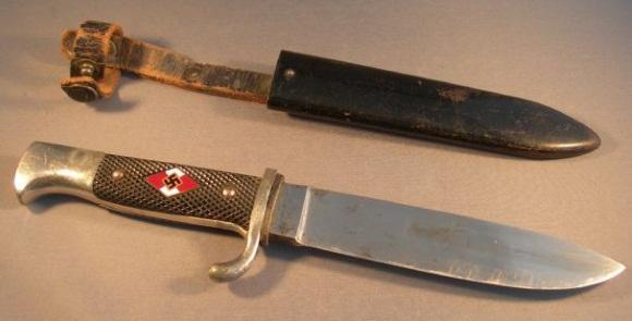 Нож Гитлерюгенда с ножнами для младших участников