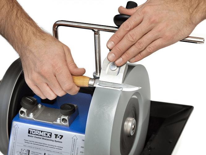 Как правильно точить ножи на точильном станке