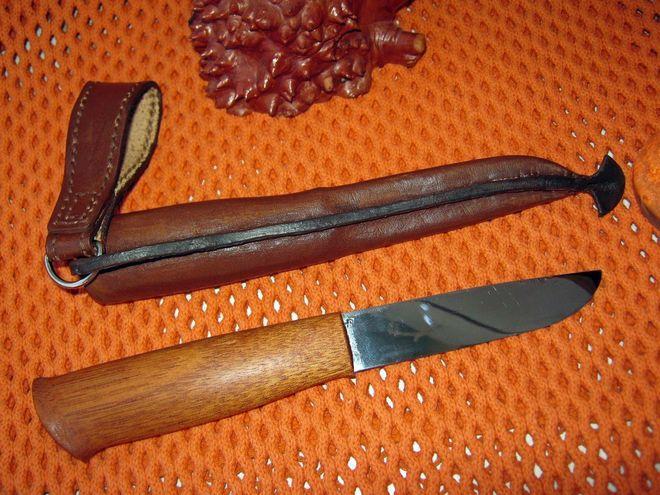 Нож из косы