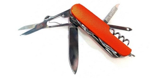 Нож в самолет