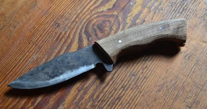 Нож из пилы