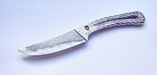 Нож из троса