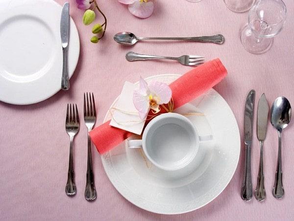 Сервировка стола к завтраку
