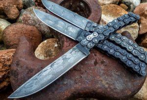Самодельный нож из цепи