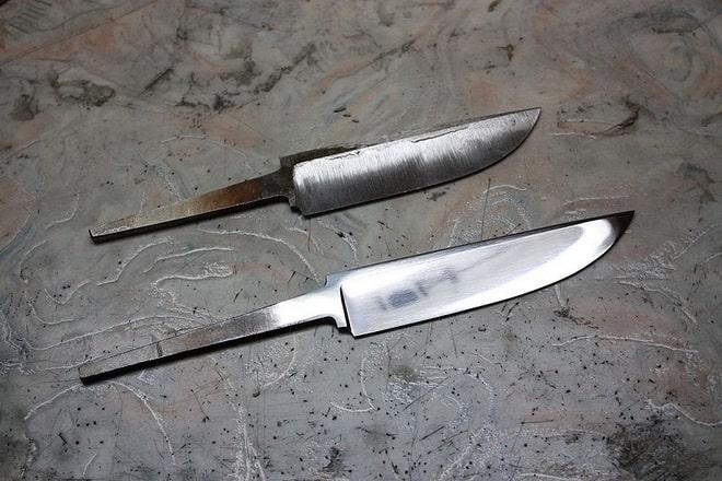 Заготовка из стали для ножа