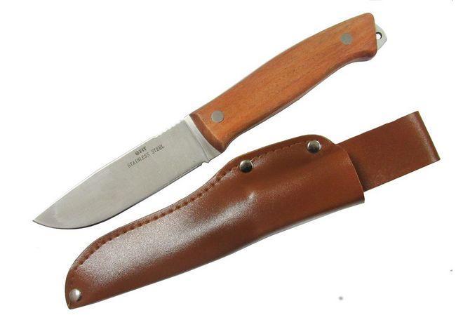 Туристический нож из нержавейки