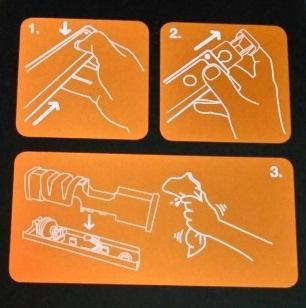 Инструкция по работе с точилкой Fiskars