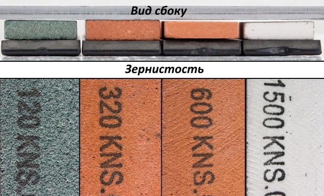 Абразивы точилки для ножей Ruixin Pro 3