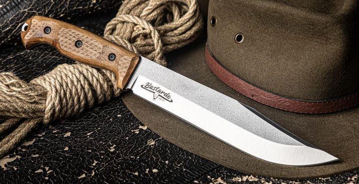 Нож Боуи BASTARDO 420 HC TW от Kizlyar Supreme