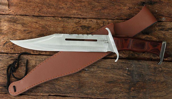 Нож Рембо 3 с кожаными ножнами