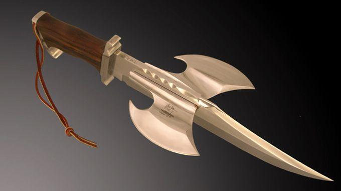 Нож Рембо 3 с фантастическим элементом