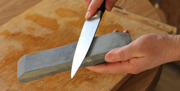 Туристический нож и его заточка