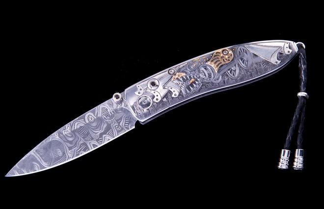 MONARCH STEAMPUNK DRAGON KNIFE